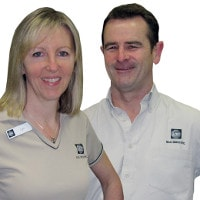 Lyn & Steve from MBE